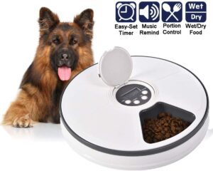 Ancaixin Automatic Timed Cat Dog Feeder