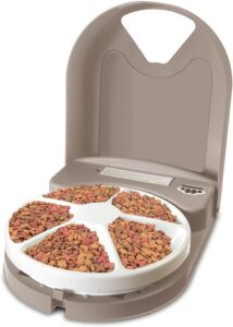 PetSafe Dog and Cat Food Dispenser, 5 Meal