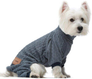 Fitwarm Turtleneck Knitted Dog Sweaters