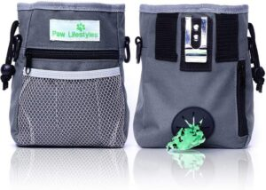 Paw lifestyle dog treat training pouch