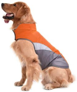 SILD Dog Jacket Outdoor Indoor Activities Waterproof Windproof Reflective Dog
