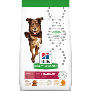 Hill's Bioactive Recipe Fit + Radiant Chicken & Barley Adult Dry Dog Food, 11 lbs.