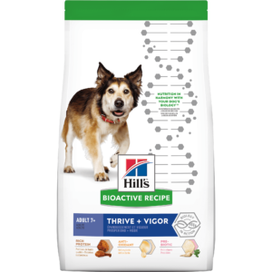 Hill's Bioactive Recipe Thrive + Vigor Chicken & Brown Rice Adult Dry Dog Food, 11 lbs.