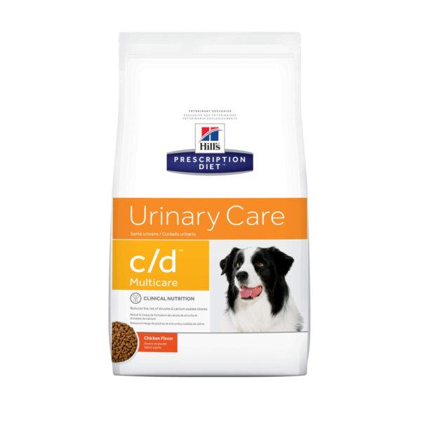 Hill's Prescription Diet - Urinary Care c/d Multicare, Chicken Flavor Dry Dog Food, 27.5 LB Bag