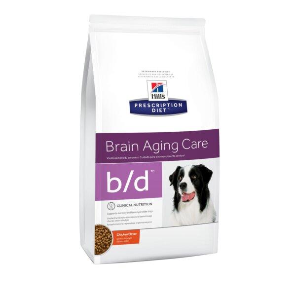 Hill's Prescription Diet b/d Brain Aging Chicken Flavor Dry Dog Food
