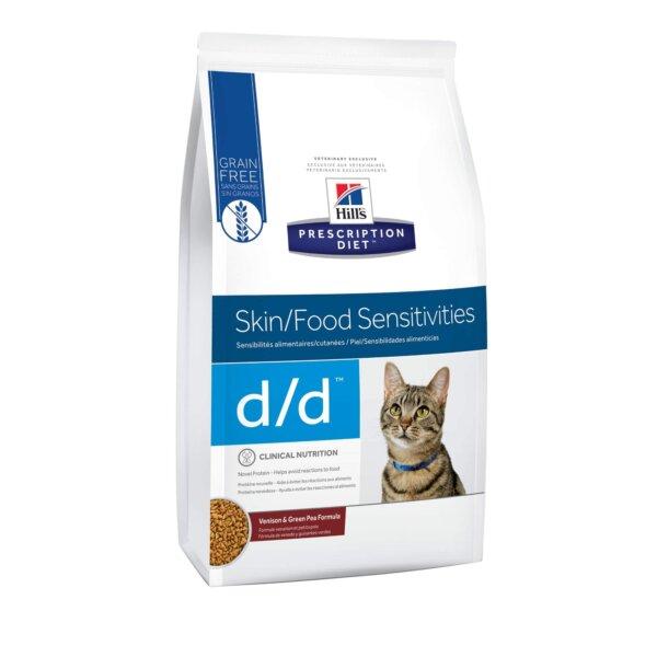 Hill's Prescription Diet d/d Skin/Food Sensitivities Venison & Green Pea Formula Dry Cat Food