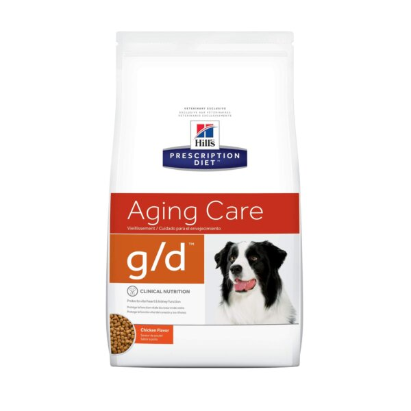Hill's Prescription Diet g/d Aging Care Chicken Flavor Dry Dog Food