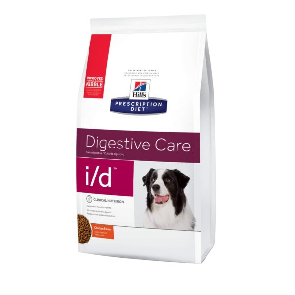 Hill's Prescription Diet i/d Digestive Care Chicken Flavor Dry Dog Food, 17.6 lbs.