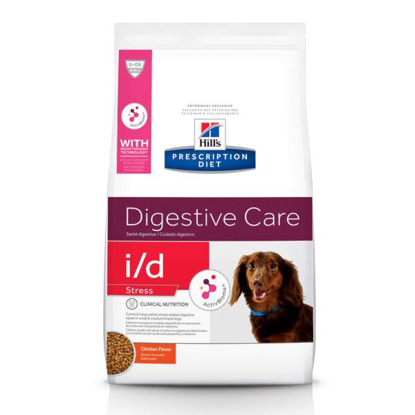 Hill's Prescription Diet i/d Stress Digestive Care Chicken Flavor Dry Dog Food, 14.3 lbs.