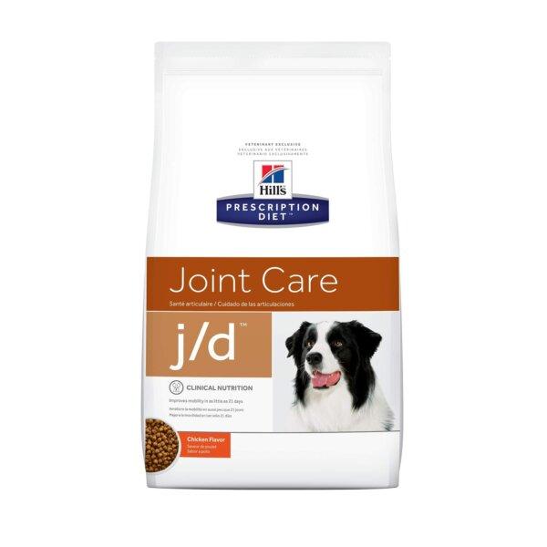Hill's Prescription Diet j/d Joint Care Original Bites Chicken Flavor Dry Dog Food, 8.5 lbs., Bag