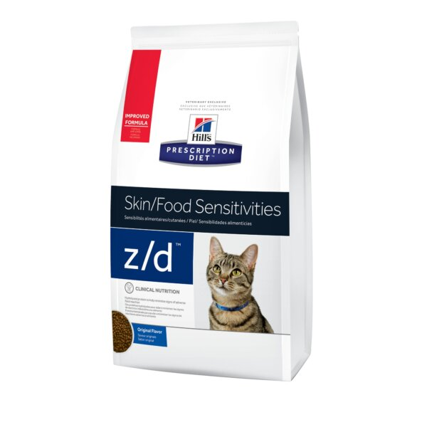Hill's Prescription Diet z/d Skin/Food Sensitivities Original Dry Cat Food