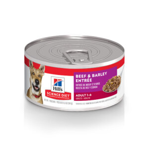 Hill's Science Diet Adult Beef & Barley Entree Canned Dog Food