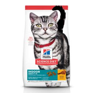 Hill's Science Diet Adult Indoor Chicken Recipe Dry Cat Food, 3.5 lbs.