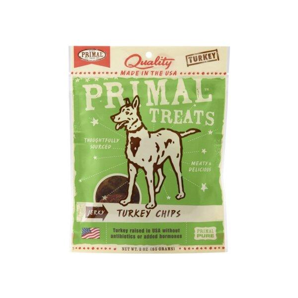 Primal Grain Free Jerky Chips Dog Treats